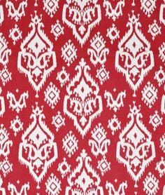 Premier+Prints+Raji+Carmine+Red+Fabric