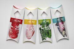 Embalagem / Packaging  Mercado PET  Embalagens da NuBone (suplemento alimentar para cachorros).