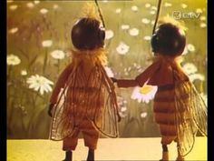 Russian stop-start animated short film of a bee's life - very sweet.