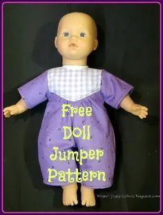 Joy's FREE Doll Jumper Pattern