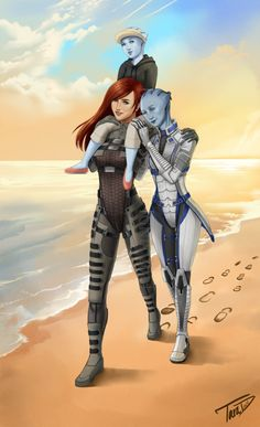 Featuring Rogue!Shep and Liara. Probably a bit late for a spoiler alert, given that these words appear at the bottom For those who have played ME2, you'd notice that Liara had ... become somewhat a...