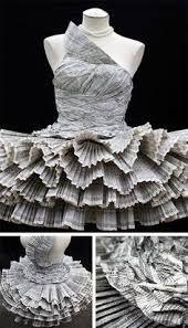 Resultado de imagem para vestidos de papel