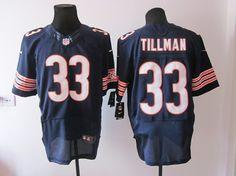Bears  33 Charles Tillman Elite blue 2012 Nike NFL Jersey ID 976810092  23  Charles 33188209e
