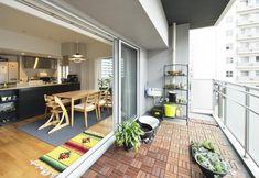 マンションの狭いベランダでもおしゃれに活用する方法 - Yahoo!不動産おうちマガジン Roof Balcony, Decks And Porches, Tiny House Design, Home Interior Design, Sweet Home, Exterior, Patio, Outdoor Decor, Room