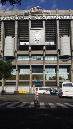 En Madrid a la estadio de real Madrid!!!!!
