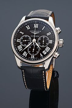 Longines Master Chrono Roman Watch