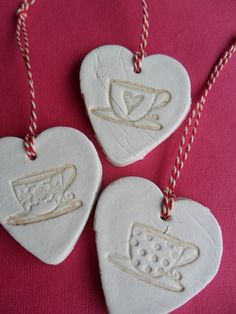 clay hearts - Google Search