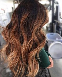 Ombre Hair Color For Brunettes, Balayage Hair Brunette Long, Auburn Hair Balayage, Balayage Hair Copper, Balayage Hair Caramel, Brunette Color, Hair Color Balayage, Ombre Hair Copper, Long Auburn Hair