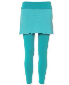 Organic Cotton Skirted Leggings: Soul Flower Clothing