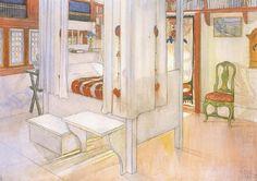 Carl Larsson  ~ Bedroom