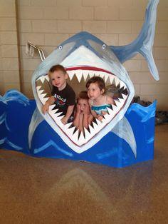 Shark photo op