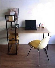 Стиль лофт в дизайне письменного стола.