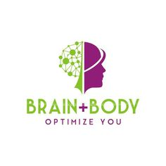 Designs create an abstract logo that emulates optimizing brain. Logo Tv, Lab Logo, Weight Loss Website, Brain Logo, Health And Wellness Quotes, Doodle Lettering, E Design, Wall Design, Graphic Design