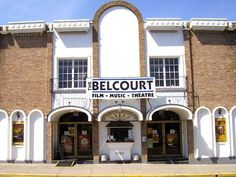 Nashville -> Belcourt Theatre  Nashvilles only independent neighborhood film house.