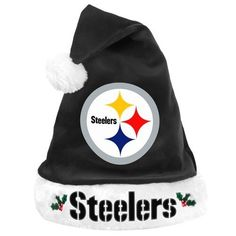 NFL Santa Hat NFL Team: Pittsburgh Steelers by Forever Collectibles. Save 79 Off!. $10.56. 100% Polyester; One size fits most; Made of soft, plush material; Embroidered team logo; Measures 17 inches; Officially licensed. The Santa Hat by Forever Collectibles features: - 100% polyester fibers - Decorated with team logo