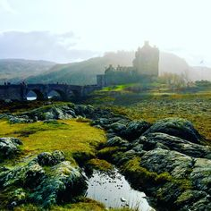 My pic of Eilean Donan Castle so lucky to live not too far & visit often ❤️