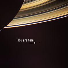 "This excerpt from Carl Sagan seems fitting as we look upon ourselves with Cassini.  ""From this distant vantage point, the Earth might not seem of any particular interest. But for us, it's different. Consider again that dot. That's here. That's home. That's us. On it everyone you love, everyone you know, everyone you ever heard of, every human being who ever was, lived out their lives..... CREDIT: JPL, NASA, Color composite by Maksim Kakitsev"