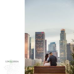 Downtown Los Angeles Engagement | Sharlyn