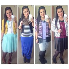 Guest Post from @melbella14 on Modern Modesty. Fall Outfits. Modest Outfit Ideas. Fall Color Combo Series.