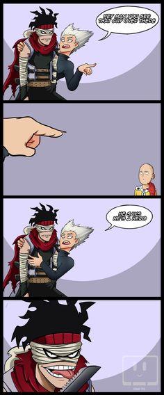 Hero Hunter & the Hero Killer (Comic by & Manga One Punch Man Funny, One Punch Man Anime, Anime Vs Cartoon, Anime Meme, Iron Man Wallpaper, Hero Wallpaper, 150 Pokemon, Nerd Memes, Rainbow Six Siege Memes