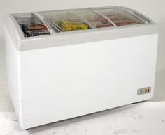 The commercially approved chest freezer features easy open sliding glass door and security lock. The interior features three removable storage basketsfor easy cleanup. Best Home Security, Home Security Systems, Security Lock, Battery Powered Drill, Chest Freezer, Kitchen Equipment, Sliding Glass Door, Cool Kitchens, Storage Chest