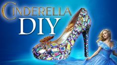 DIY video showing how to create Cinderella's glass slippers. Please share it with someone you know who loves the new Disney movie.