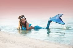 This photo from our fan is dripping in magic. Tell us why you feel magical when you are in your Fin Fun mermaid tail.
