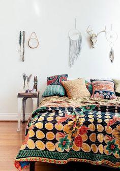 Hippie slaapkamers