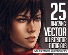 Adobe Illustrator: Vector Graphics Tutorials to Learn Design & Illustration Techniques #vectorgraphics #illustratortutorials #digitalart #drawing