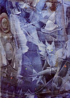 'The Illustrious Forger of Dreams', by Max Ernst, oil-on-canvas, 1959, Jeffrey Loria Collection, New York.