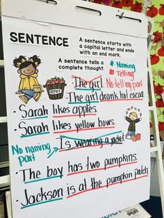 Building Sentences, Expanding Sentences & Types of Sentences #HollieGriffithTeaching #HandsOnLearning #KidsActivities