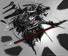 Gear Blade by benedickbana.deviantart.com on @DeviantArt