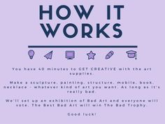 How it works Teen Programs, Youth Programs, Library Programs, Art Programs, Youth Services, Library Services, Librarian Career, Teen Library, Library Ideas