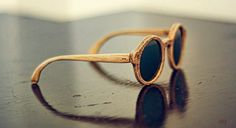 Handcrafted wood sunglasses with laser engraved texture, Made in Italy. by Baricoole on Etsy