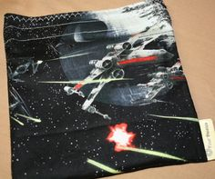 Reusable sandwich bag   Star Wars space by fourdaisies on Etsy, $7.50