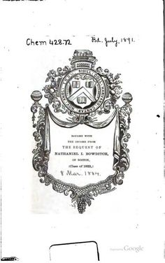 1880 - Elements of Chemistry: Theoretical and Practical   by William Allen Miller , Henry Edward Armstrong, Charles Edward Groves