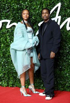 """The 𝑷𝑶𝑾𝑬𝑹 The 𝓼𝓽𝔂𝓵𝓮 The 𝙘𝙡𝙖𝙨𝙨 that and have! Asap Rocky Rihanna, Rihanna Red Carpet, Lord Pretty Flacko, Rihanna Riri, British Fashion Awards, Mood Pics, Fashion Books, British Style, Mixtape"