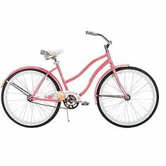 Comfort Bikes For Women Road Beach Cruiser Teen Girls Men Boys Adult Mountain2  Type - Cruiser, Gender - Women, Frame Size - 26, Color - Pink, Number of Speeds - 1 Speed, UPC - 028914564166