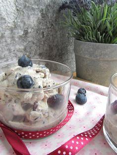 Frozen Yogurt de Mirtilo Frozen Yogurt, Ice, Desserts, Puddings, Tailgate Desserts, Cakes, Sweet Like Candy, Recipes, Ideas