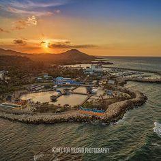 Atardecer en Ocean World @ Cofresí PuertoPlata  #DJICreator #DJIPhantom3Pro #tourismrd #drhasitall #aerialphotography by hvilorio
