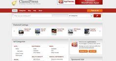 Classsipress Classified Ad WordPress Theme Free