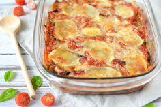 Aubergine Lasagne Recept - Parmigiana di Melanzane