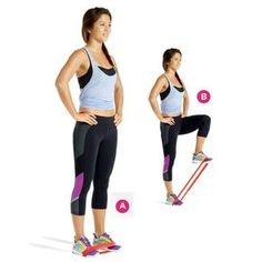 The Resistance-Band Workout Get a tight, toned lower body with a single travel-friendly tool and this workout: www. Fitness Motivation, Fitness Tips, Fitness Goals, Easy Fitness, Exercise Motivation, Easy Workouts, At Home Workouts, Exercise Routines, Cardio Workouts