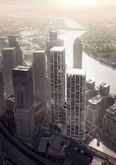 Vauxhall Cross Island in London. Zaha Hadid Architects.