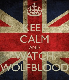 KEEP CALM AND WATCH WOLFBLOOD