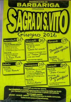 Sagra di San Vito a Barbariga http://www.panesalamina.com/2016/48360-sagra-di-san-vito-a-barbariga-2.html