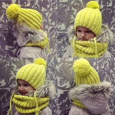 Комплектик лимонного цвета готов  для @vikochka_averyanova подойдёт как для мальчика, так и для девочки ☺️ на заказ #шапкаспицами #шапкадетская #детивологда #одеждавологда #вологда #вологдадети #вологдаодежда #вологдашапки #ручнаяработа #handmade Spring Hats, Fall Hats, Winter Hats, Crochet Beanie, Crochet Yarn, Knitted Hats, Knitting For Kids, Baby Knitting, Childrens Shop