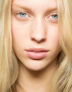 Totally Neutral Makeup  Eyes,Cheek & Lips  No Makeup Trend for Spring Summer 2013.  Isabel MarantSpring Summer 2013.    #makeup #trend