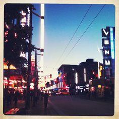 Granville St, Vancouver