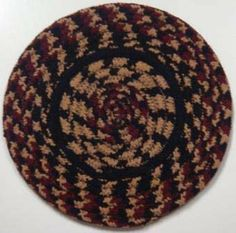 """Blackberry Braided Jute Trivets - Set of 4 - 8"""" by IHF Home Décor. $11.99. Braided Accessories from IHF Home Décor - Blackberry Braided Trivets"""